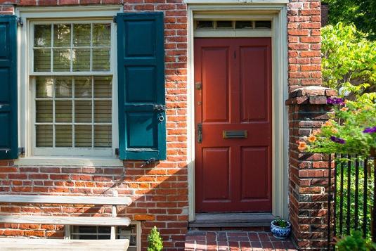 Bells Court Door
